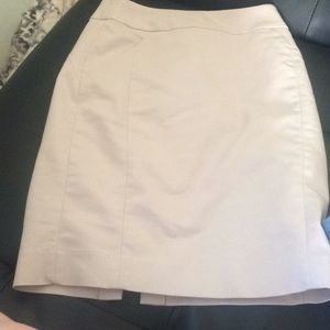Super cute tan pencil skirt!!